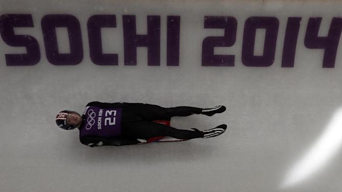 In Olympic luge, it's Germany, and everyone else