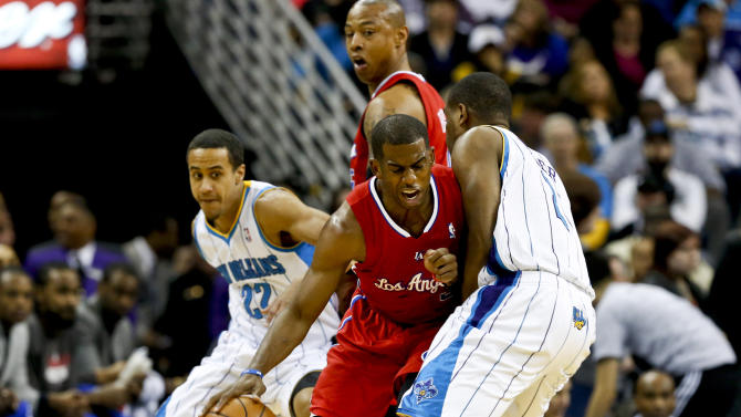 NBA: Los Angeles Clippers at New Orleans Hornets