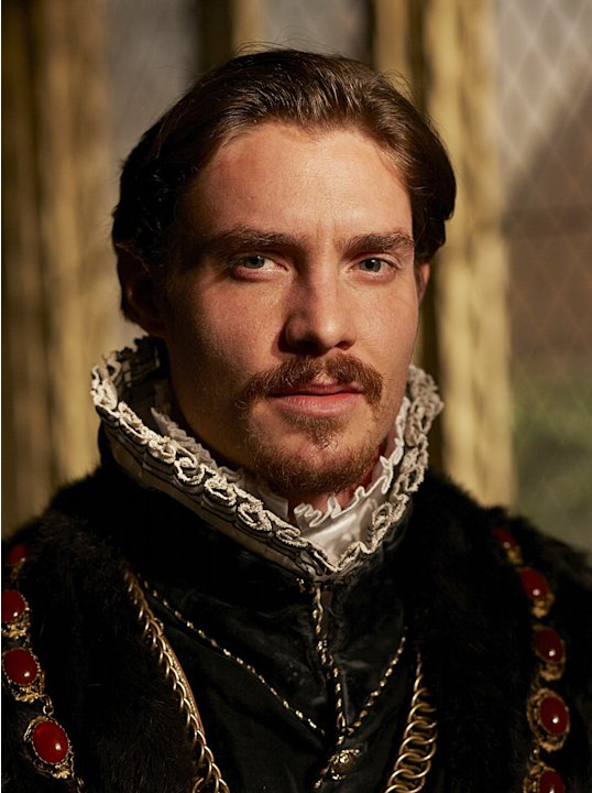 "Max Brown as Edward Seymour in ""The Tudors."""