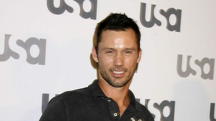 "Jeffrey Donovan arrives at ""Characters Welcome"" USA Network celebrates it's Lineup of Stars on April 3, 2008 at CRAFT in Century City, California."