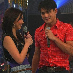 Mariel Rodriguez and Robin Padilla (Photo courtesy of ABS-CBN)