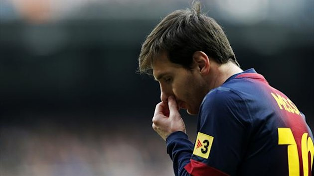 Lionel Messi Barcelona Reuters