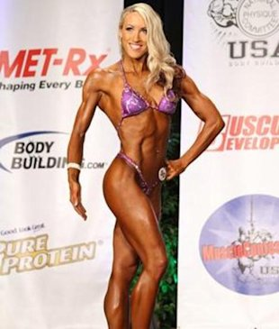 Fitness secrets from a female figure competitor