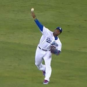 Puig's game-saving throw