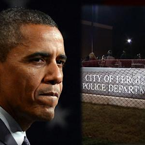 OBAMA'S MESSAGE TO FERGUSON PROTESTERS