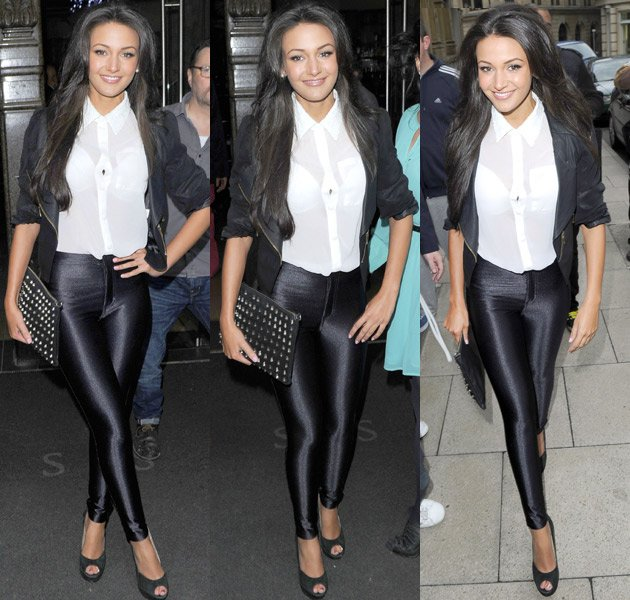 Michelle Keegan, leggings, Corrie