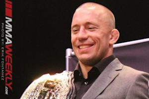 Georges St-Pierre to Have ACL Surgery Next Week in Los Angeles