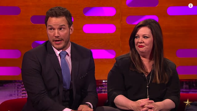 Chris Pratt and Melissa McCarthy Reveal the Headshots They Never Wanted You to See