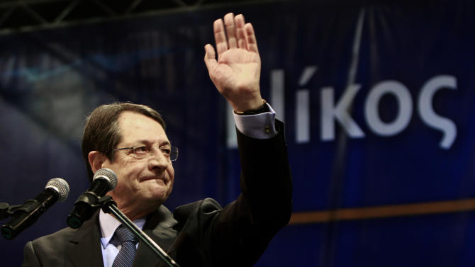 Financial crisis drives Cyprus presidential poll