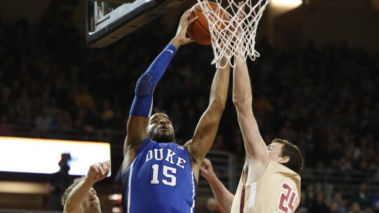 NCAA Basketball: Duke at Boston College