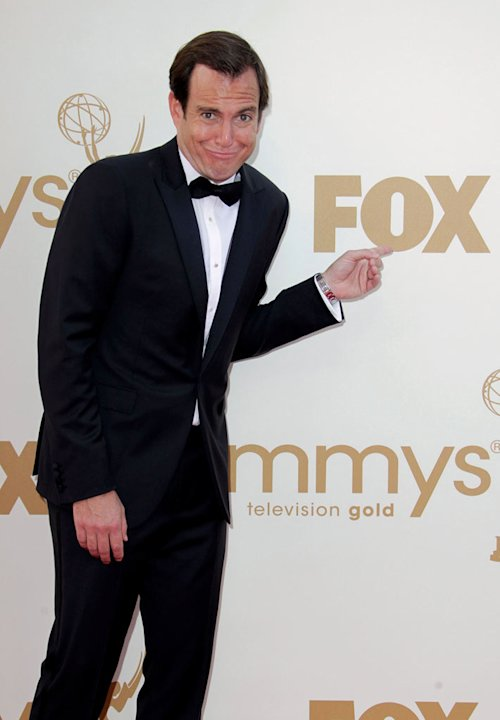 Will Arnett arrives to the 63rd Primetime Emmy Awards at the Nokia Theatre L.A. Live on September 18, 2011 in Los Angeles, United States.