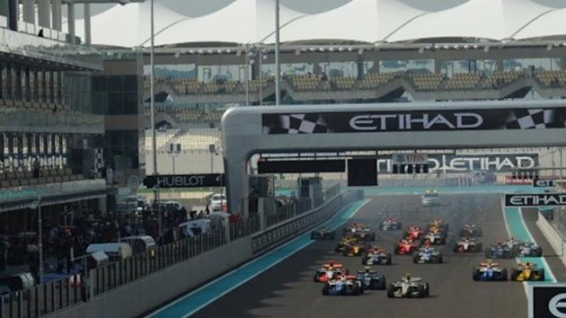 Abu Dhabi GP2 Series Start