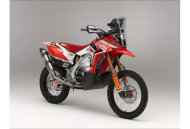 Honda will use the CRF450X as the base for its Dakar challenger