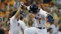 Carlos Correa puts the Astros ahead 3-2 after five innings