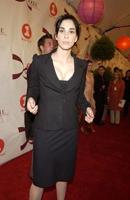 Sarah Silverman VH1 Vogue Fashion Awards - 10/15/2002