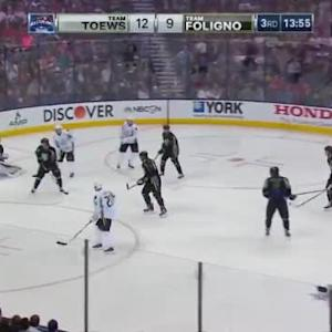 Team Toews at Team Foligno Game Highlights