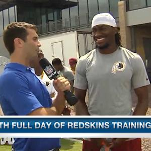 Washington Redskins QB RGIII: We need to improve everyday