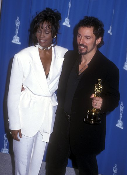 With The Boss at the 1994 Academy Awards