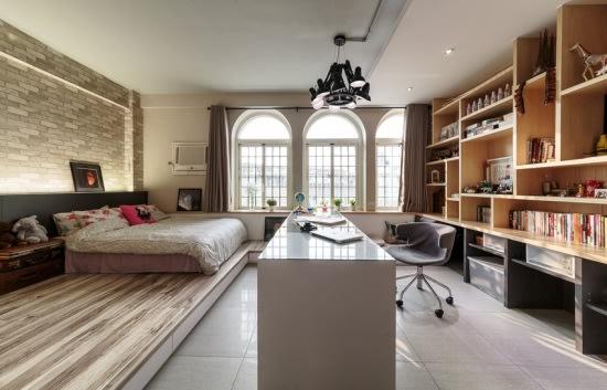 屏東 30 坪平面設計師的家