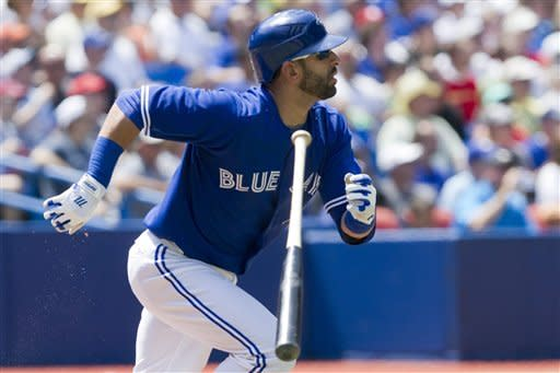 Encarnacion hits 2 HRs as Blue Jays beat Indians