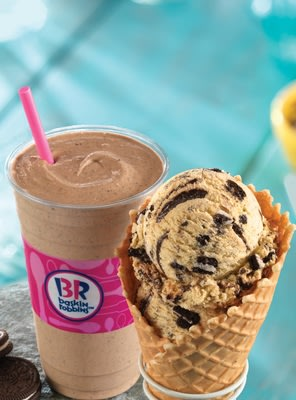 Baskin-Robbins Celebrates National Ice Cream Month With Free Waffle Cone Offer And New OREO 'N Cake Batter Flavor Of The Month