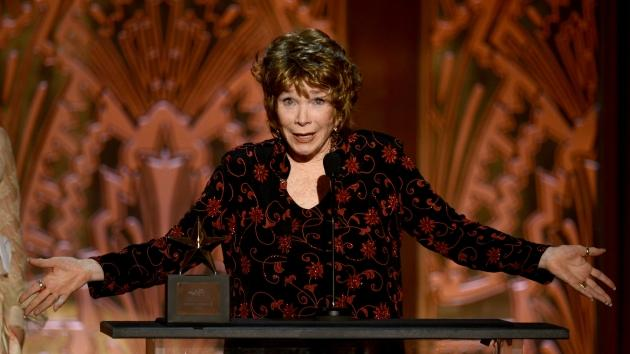 Shirley MacLaine speaks onstage at the AFI Awards held at Sony Pictures Studios in Culver City, Calif., on June 7, 2012 -- Getty Images