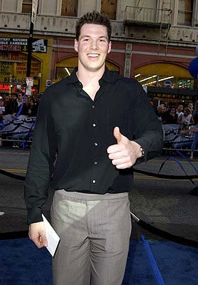 Daniel Cudmore at the Hollywood premiere of 20th Century Fox's X2: X-Men United