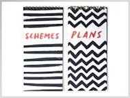 plans + schemes notebooks!