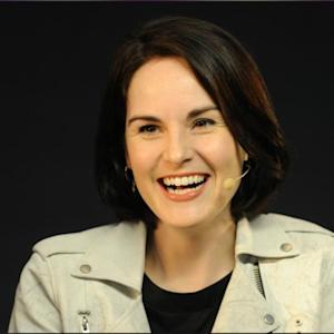 Downton Abbey Star Michelle Dockery Dishes About Being Star-Struck