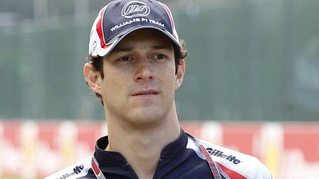 Bruno Senna of Brazil