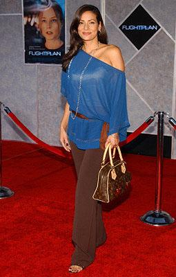 Constance Marie at the LA premiere of Touchstone's Flightplan