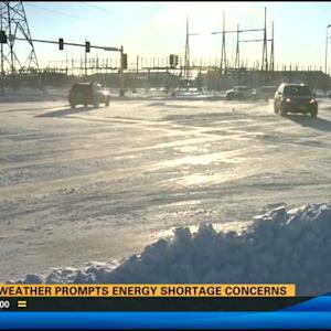 Cold weather prompts energy shortage concerns