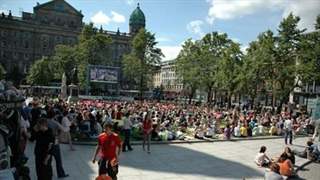 Belfast Live Site - image courtesy of London2012.com