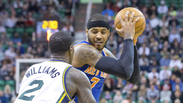 The New York Knicks will bring back Carmelo Anthony because, y'…