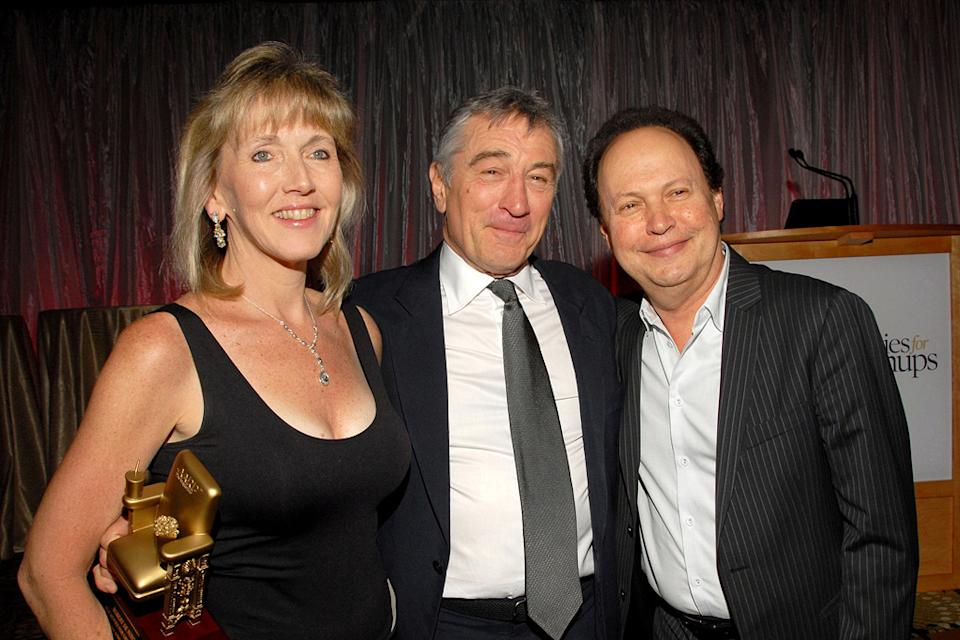 9th Annual Movies For Grownups Award Gala 2010 Robert De Niro Billy Crystal