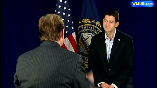 One-on-one interview with Paul Ryan