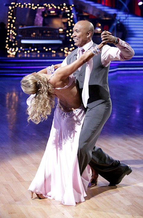 Hines Ward and Kym Johnson perform on &quot;Dancing with the Stars.&quot; 