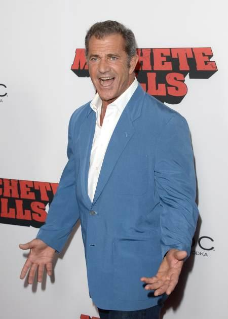 Mel Gibson arrives at the premiere of Open Road Films' 'Machete Kills' at Regal Cinemas L.A. Live on October 2, 2013 in Los Angeles -- Getty Images
