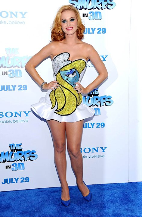 Katy Perry The Smurfs