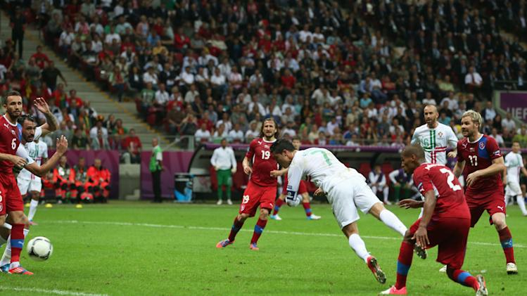 Czech Republic v Portugal - Quarter Final: UEFA EURO 2012