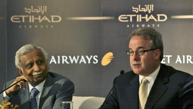 Indian panel approves Etihad purchase of Jet stake