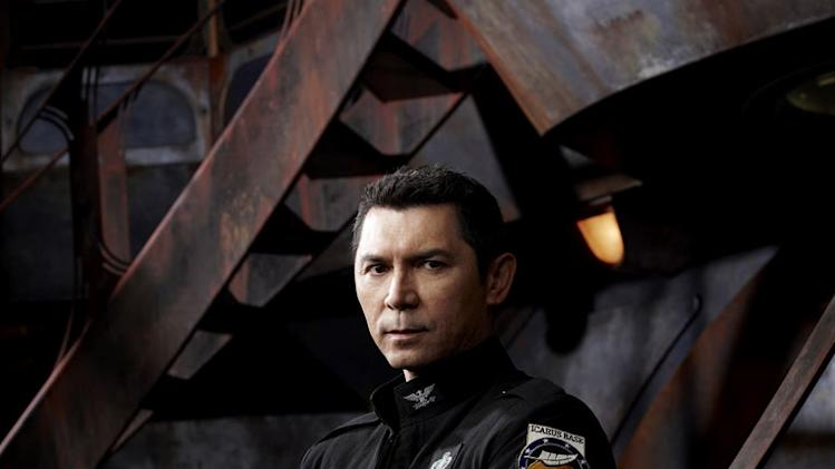 "Lou Diamond Phillips stars as Col. Telford in ""Stargate Universe."""