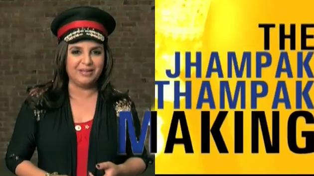 Jhampak Thanmpak making with Farha