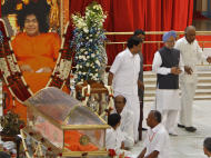Sathya Sai Baba: The Last Rites