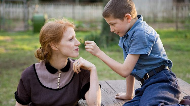 The Tree of Life 2011 Fox Searchlight Pictures Jessica Chastain Tye Sheridan