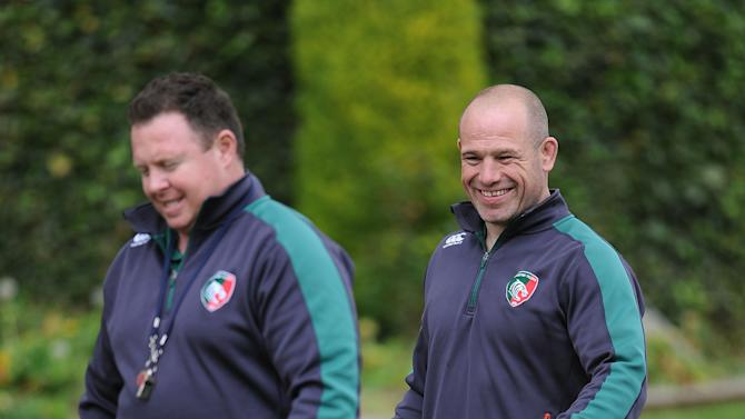 Rugby Union - Leicester Tigers Media Day - Oadby Town FC
