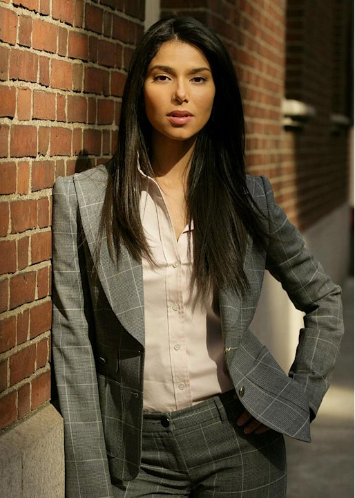 Roselyn Sanchez stars as Elena Delgado in Without A Trace on CBS.