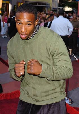 Arlen Escarpeta at the LA premiere of Universal's Cinderella Man