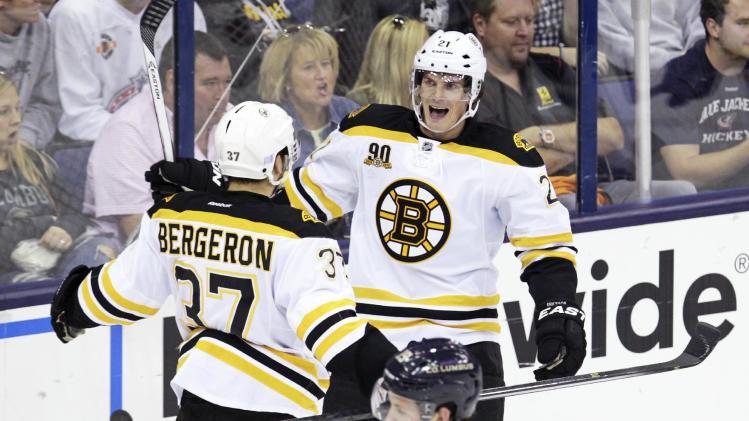 Eriksson's 1st Bruins goal gives Boston 3-1 win