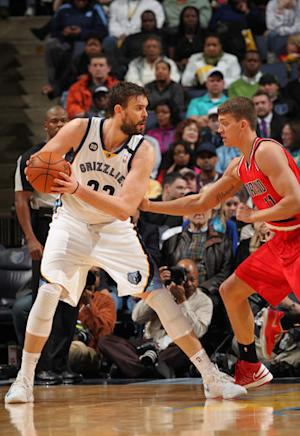 Gasol scores 23 as Grizzlies beat Blazers 91-85